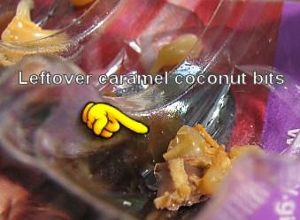 Caramel coconut bits