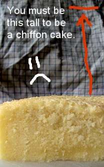 Chiffon cake, sorta