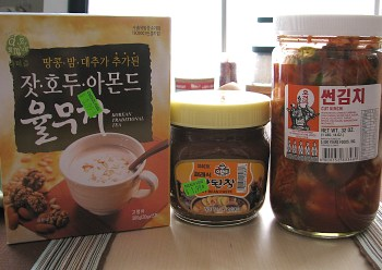 Korean groceries